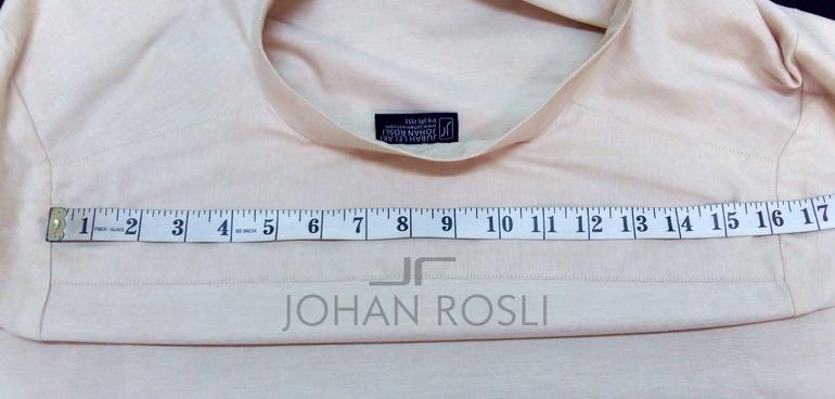 Cara ukur bahu di baju