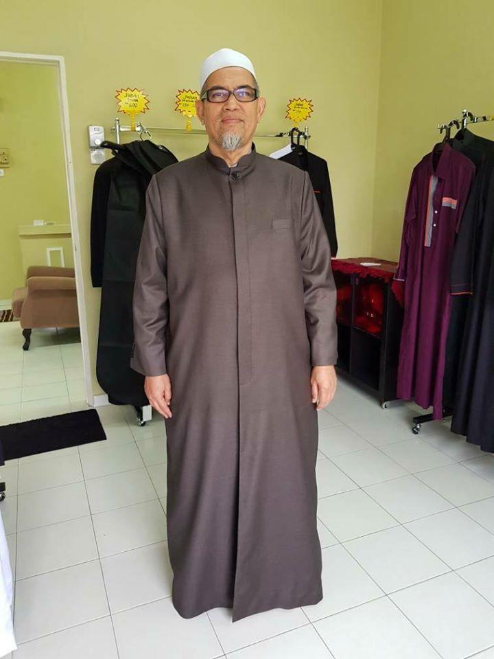 tempahan jubah imam coat