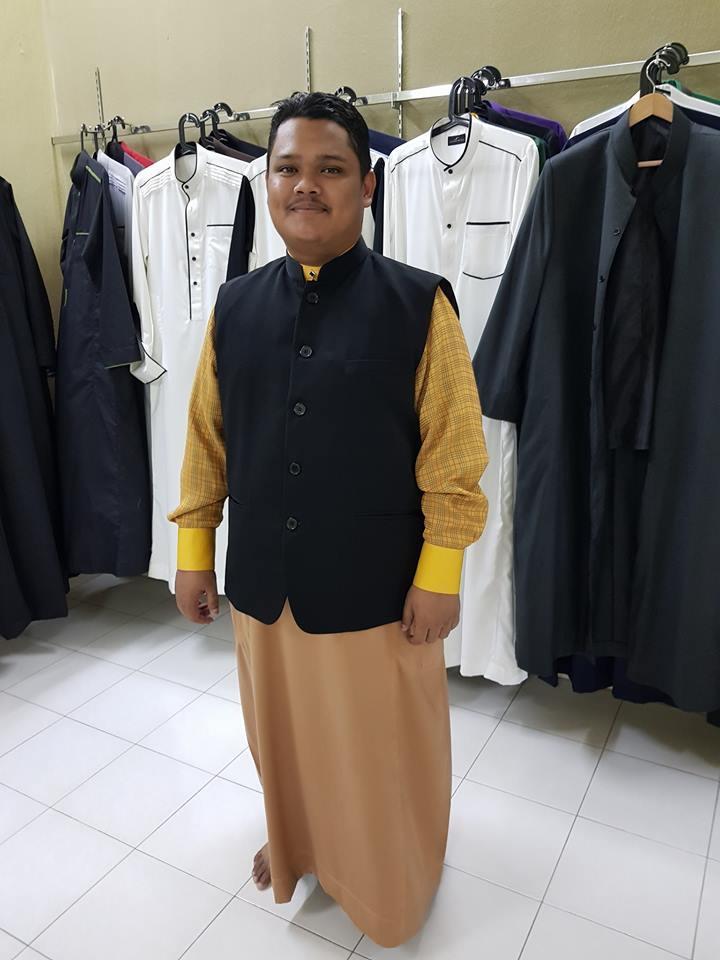 tempah vest mandarin suit