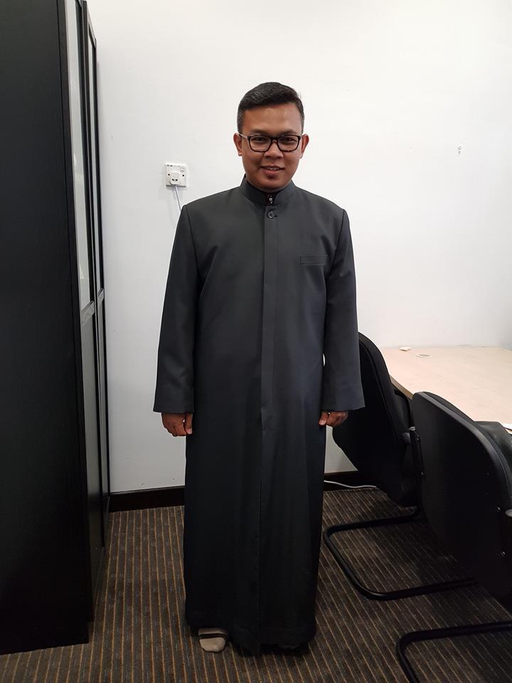tempah jubah imam coat
