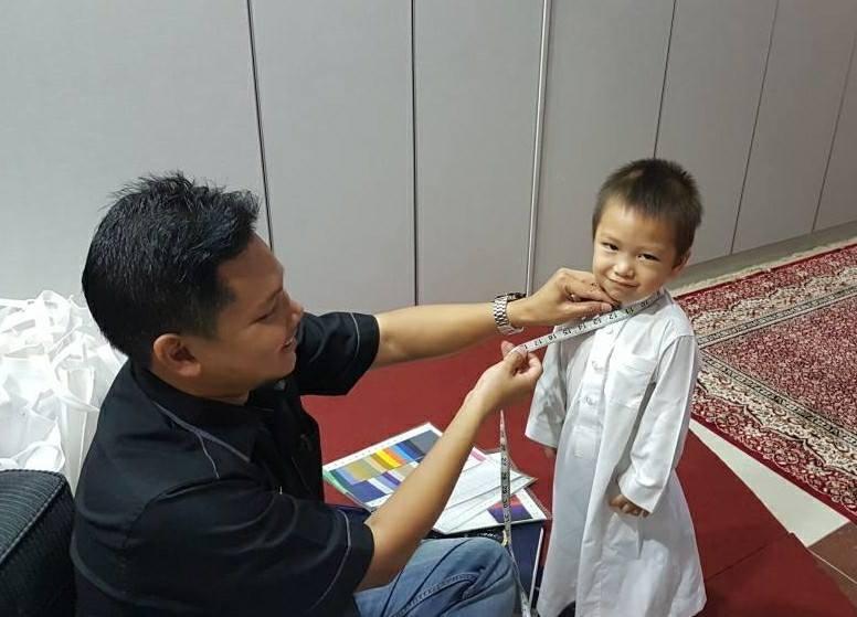 tempah baju tahfiz