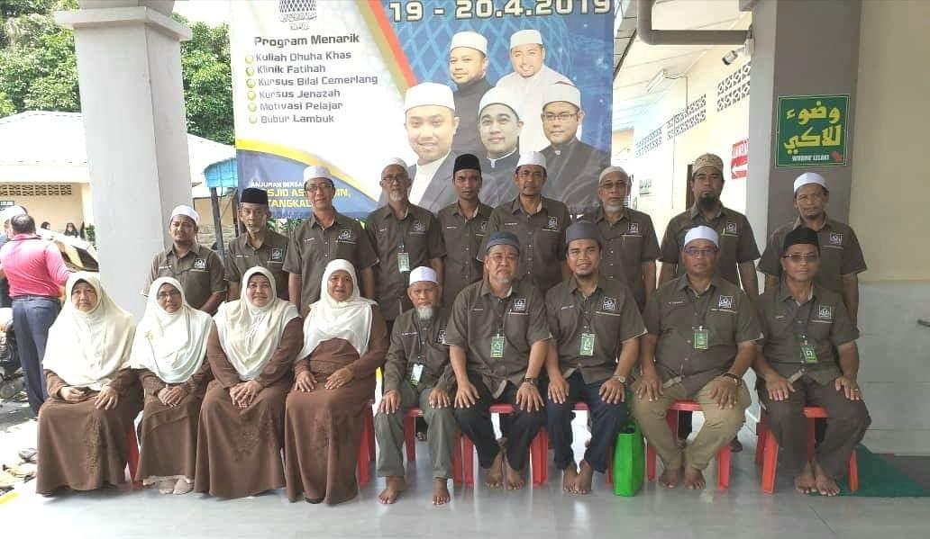 tempahan baju korporat untuk masjid as-sajidin batang kali