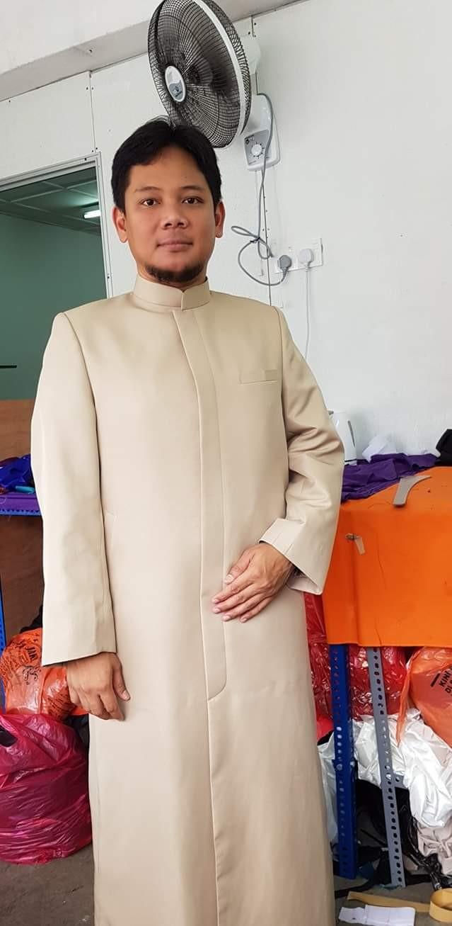 imam thobe tempahan jubah imam coat