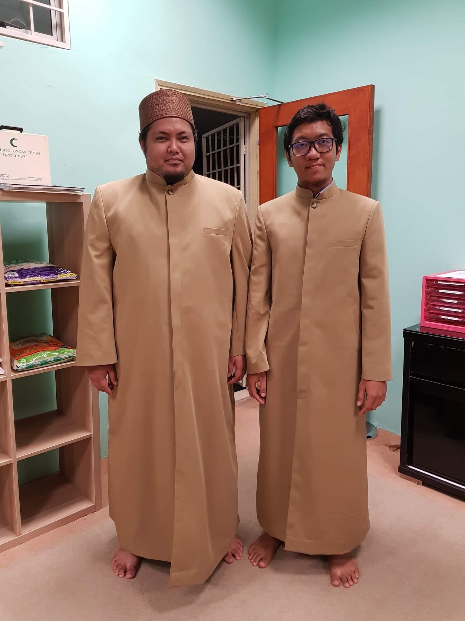 imam thobe Jubah Imam Coat utk Masjid Jamek Sultan Abdul Aziz PJ (Hospital Assunta).