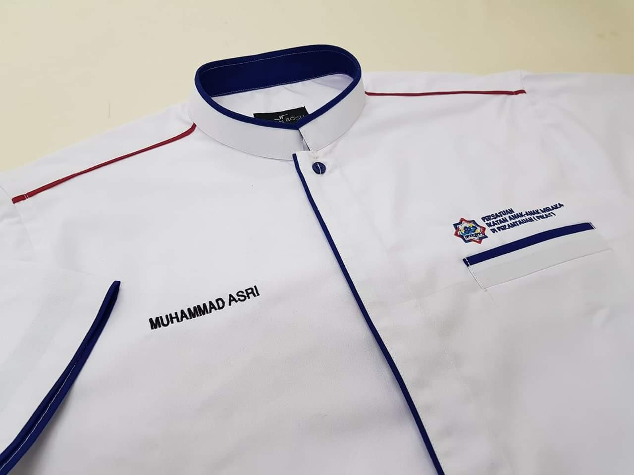tempahan baju korporat Persatuan Anak-Anak Melaka Di Perantauan (Pikat)