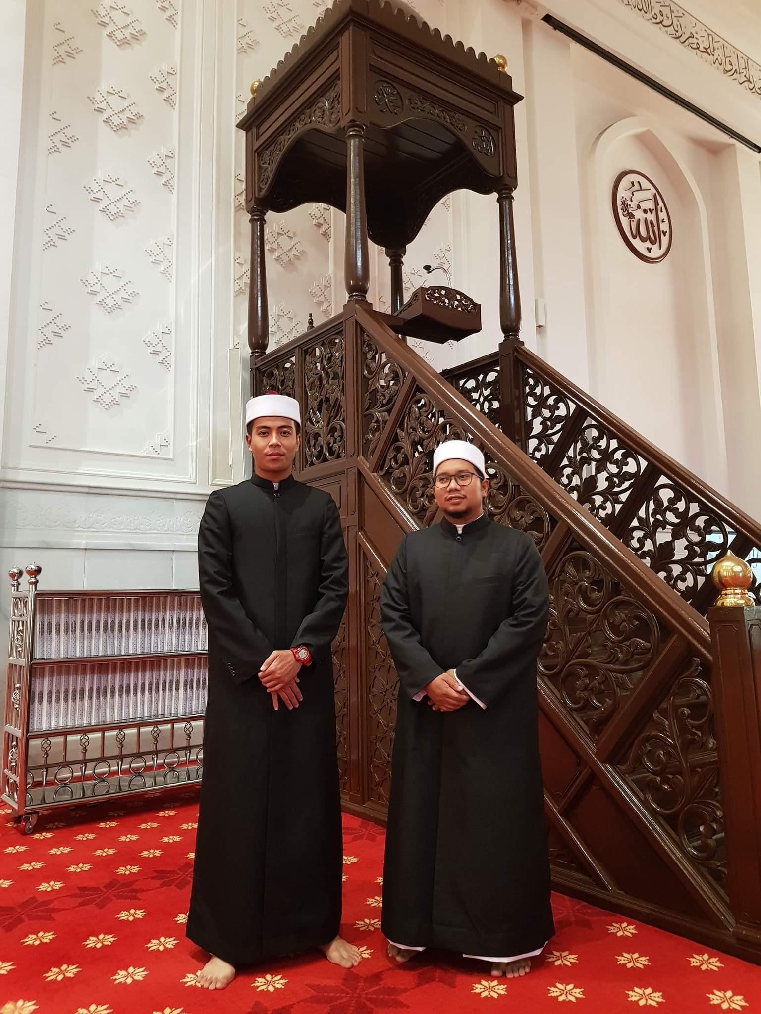 jubah imam coat masjid tengku ampuan bukit jelutong
