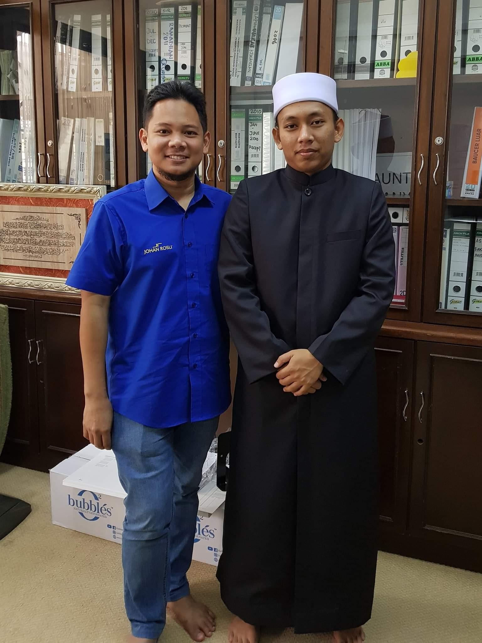 tempahan jubah imam coat masjid ar-ridhuan ulu kelang