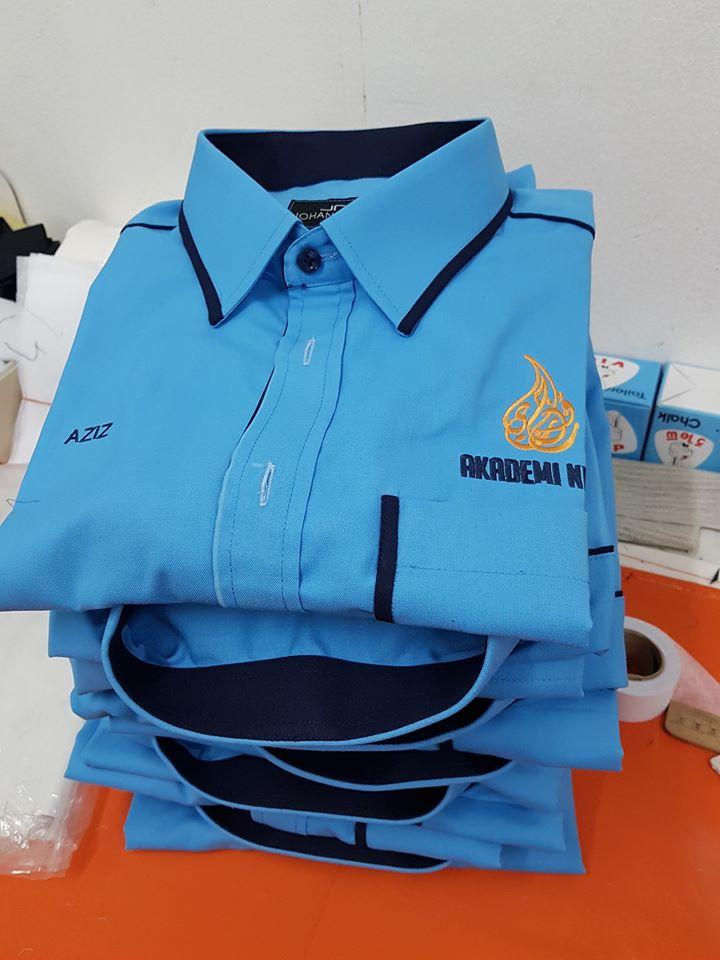 Tempahan Baju Korporat utk AKADEMI NUNJI. . #jubahlelakijohanrosli #johanrosli #bajukorporat #bajukorporattempah #akademinunji