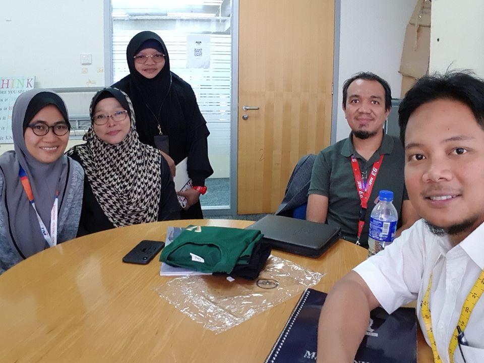 Sesi Perbincangan Baju Korporat GITD TM (Department IT Telekom Malaysia)