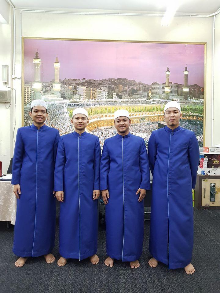 Tempahan Jubah Imam Coat utk Masjid Nurul Hidayah, Kpg Pandan Dalam.