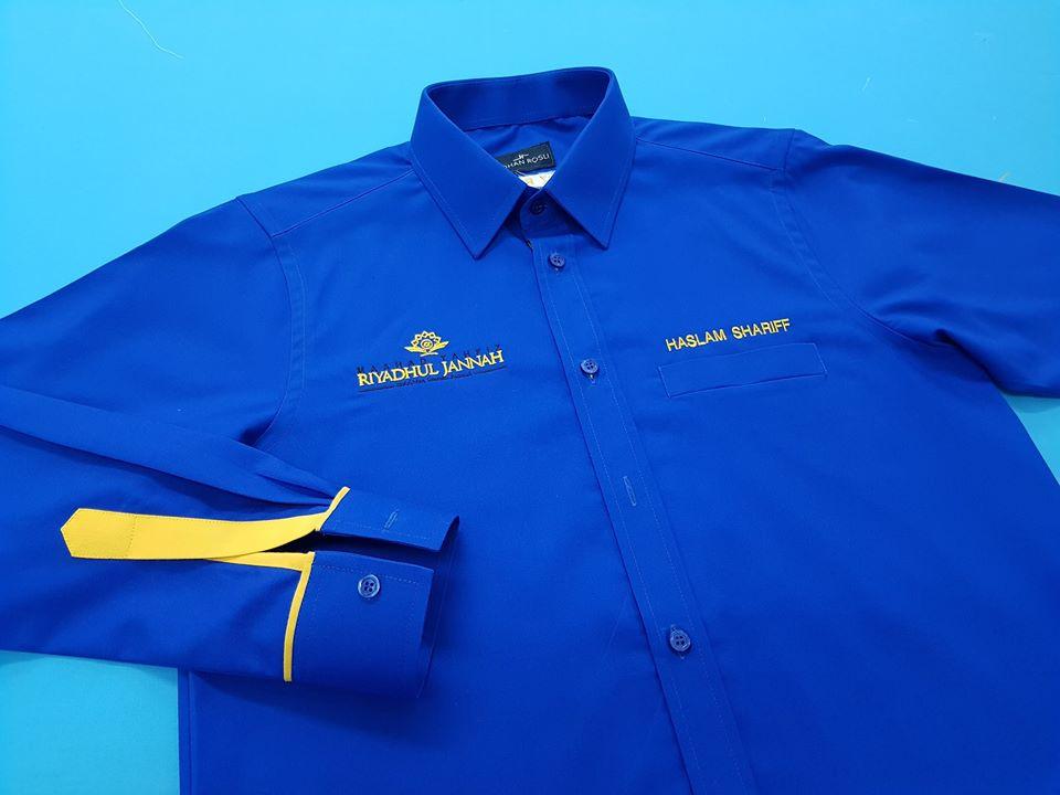 Tempahan baju korporat utk staff Maahad Tahfiz Riyadhul Jannah Semenyih. . #jubahlelakijohanrosli #johanrosli #bajukorporat #bajukorporattempah