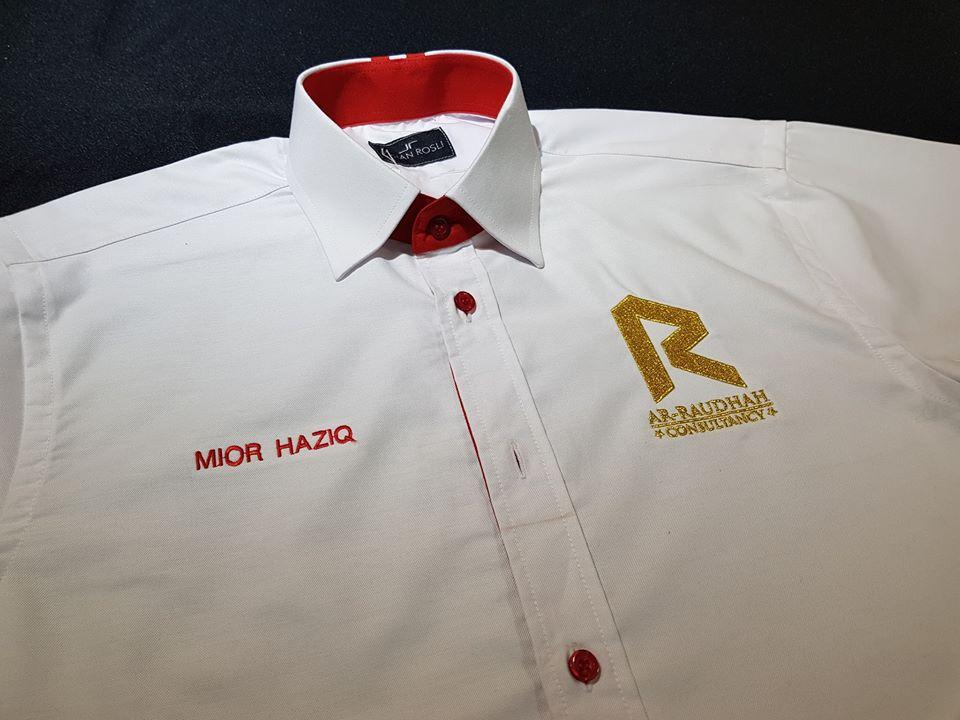 Tempahan Baju Korporat Untuk Agency KL IMTIYAZ AR RAUDHAH, AIA di One South.