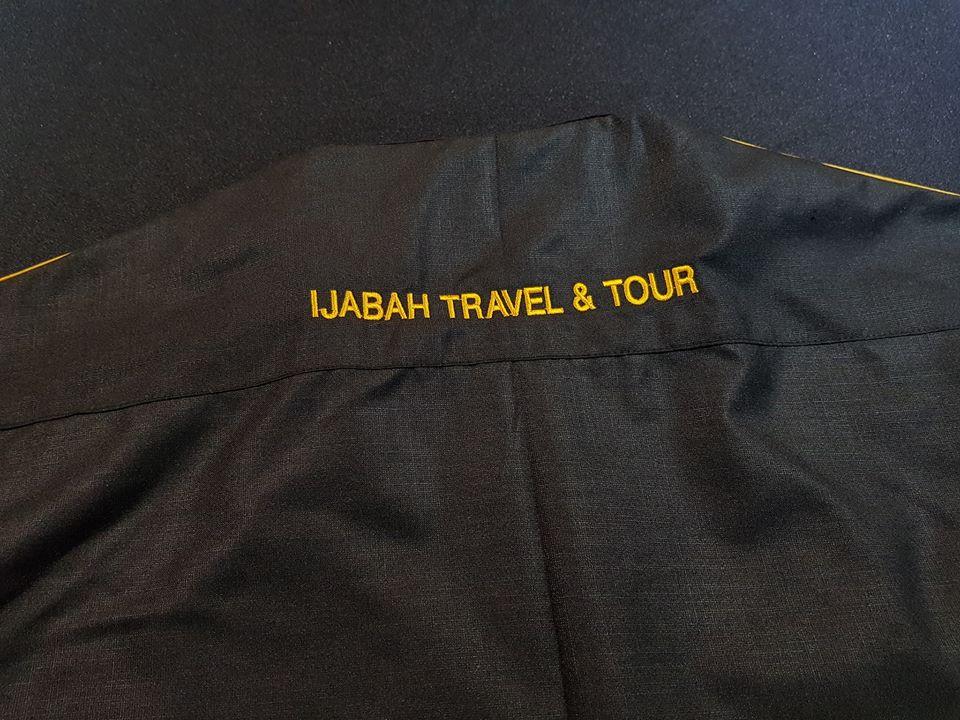 Jubah rasmi utk mutawif Ijabah Travel & Tour.