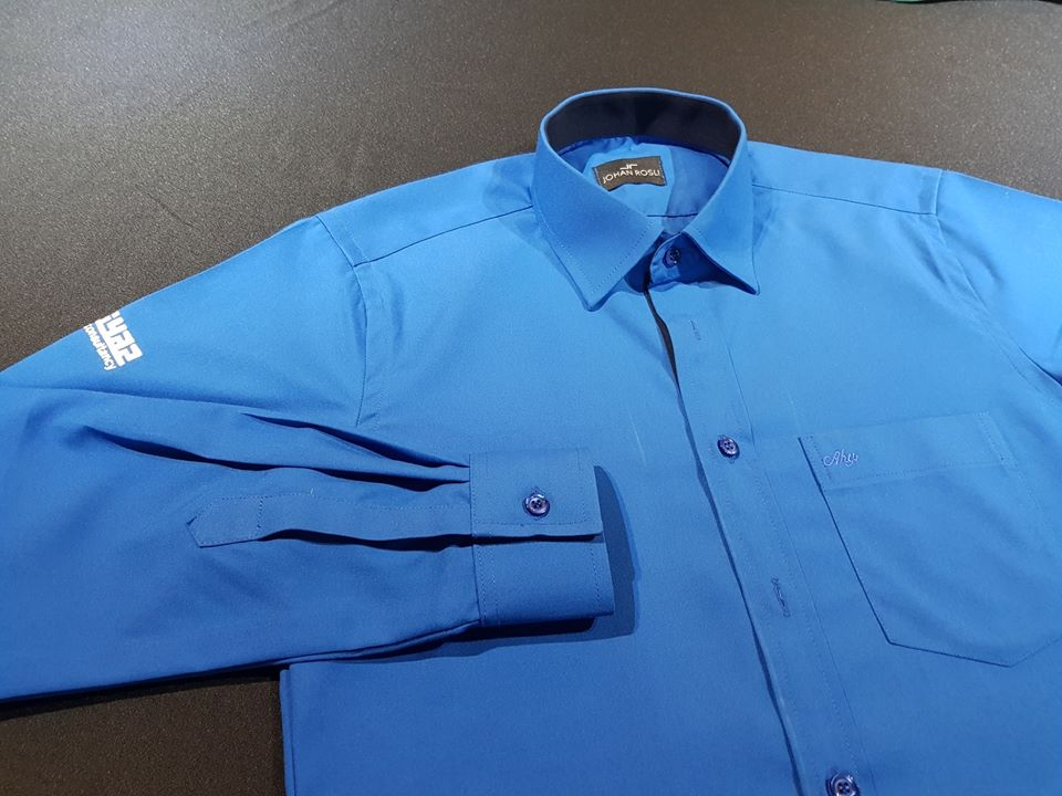 Salah satu baju rasmi utk Agency Imtiyaz Consultancy AIA.